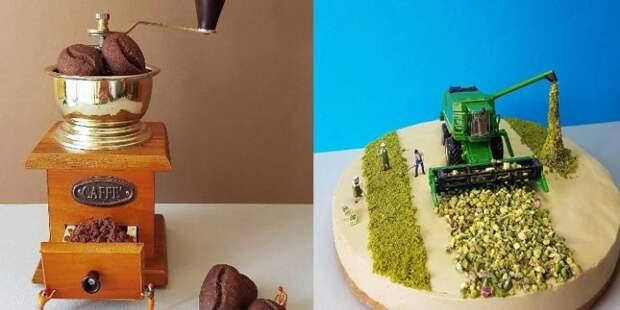 Кондитер воссоздает житейские ситуации в каждом десерте. И это невероятно круто!