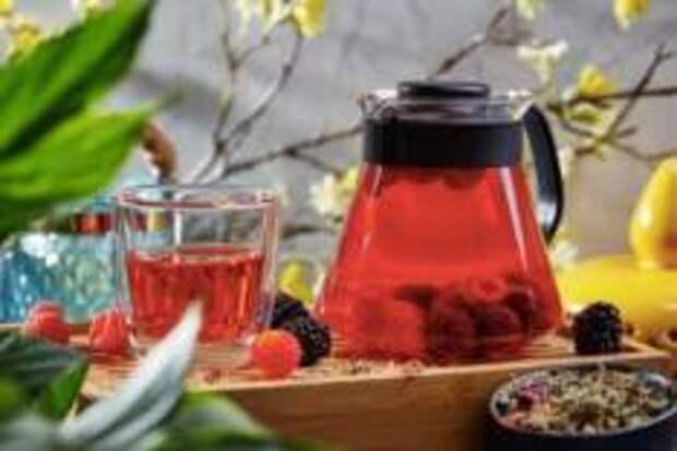 Ягодный август 2018 - Тибетский чай с малиной и ежевикой
