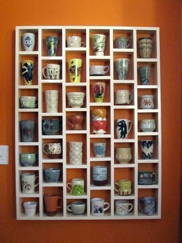 Хранения коллекций кружек (идеи)