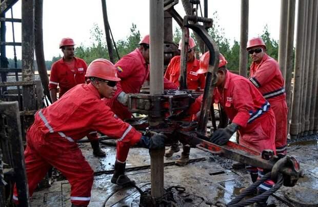 PDVSA Венесуэла добыча нефти