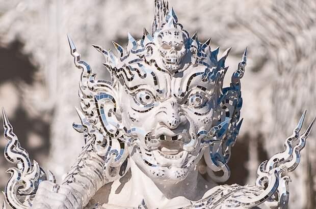 "Белый храм Wat Rong Khun в Тайланде 34 фото "" Самый сладкий контент - MALINKY.ru"