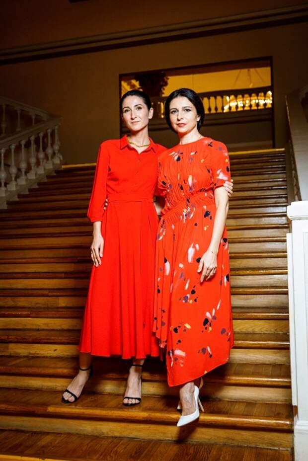 Нигина Сайфуллаева и Алиса Хазанова