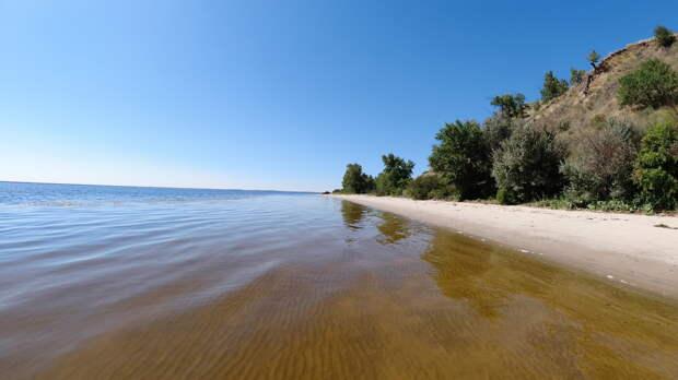 "Пляж ""Баунти"" на Волге"