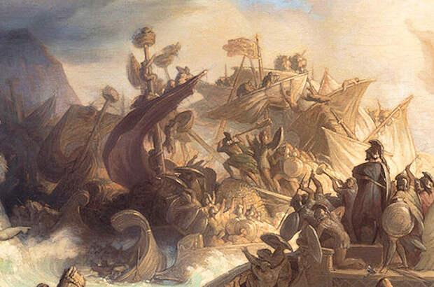 Битва, положившая конец амбициям Ксеркса. Часть 2