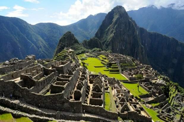 Тайны древнего города Мачу-Пикчу