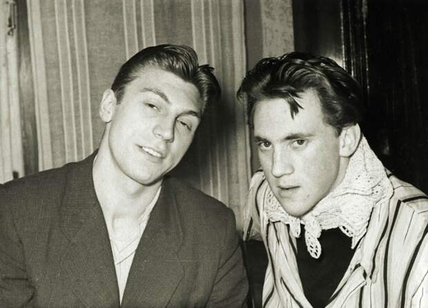 Январь 1956 года, с Игорем Кохановским.