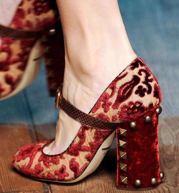 Женские туфли осень 2014