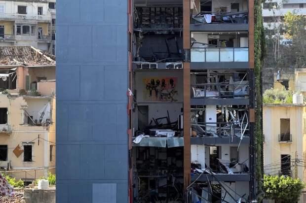 ⚫️ 12 печальных фото и видео разрушенного Бейрута после взрыва
