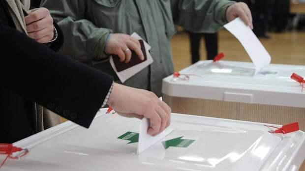 «Единая Россия» выигрывает выборы 25 апреля