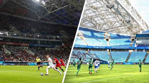 Как изменилась посещаемость стадионов ЧМ-2018 поокончании турнира