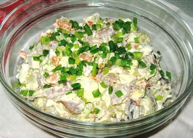 Подборка очень вкусных салатов: топ-6 рецептов