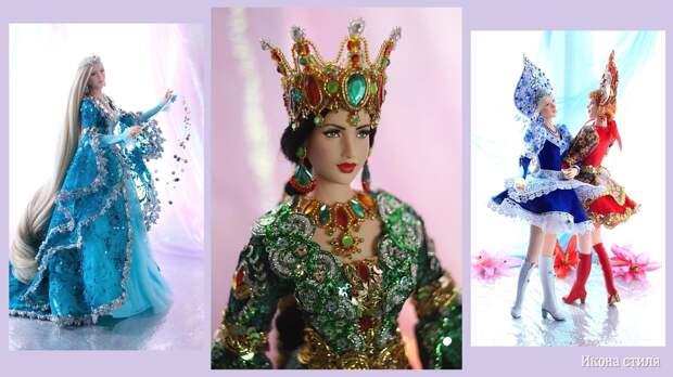 Куклы Ларисы Исаевой - игрушки с русским колоритом