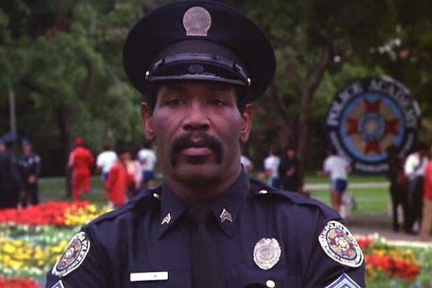 Звезда «Полицейской академии» Бубба Смит.