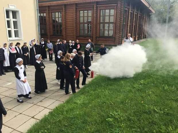 На Северо-Западе Москвы прошел открытый урок по основам безопасности жизнедеятельности
