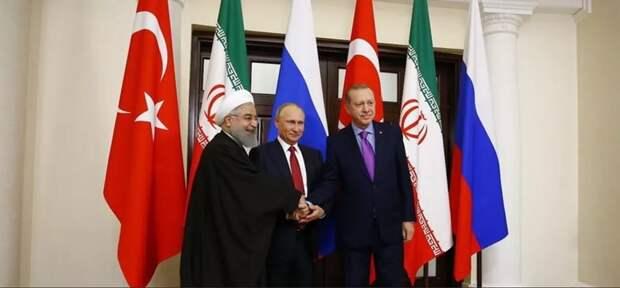 Планируется проведение встречи президентов России, Ирана и Турции по сирийскому урегулированию