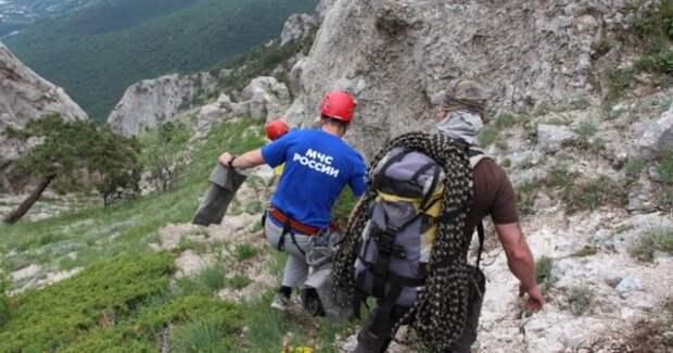 Спасатели Крыма сняли с гор увлечённых походами женщин