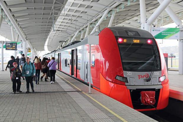 Поезд Роза Хутор – Гагра будет курсировать до конца апреля