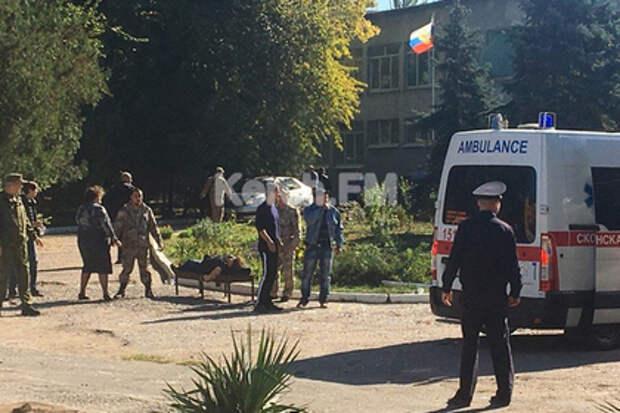 Очевидец рассказала о серии взрывов в Керчи