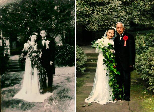 10 фото, доказывающих, что настоящая любовь неподвластна времени. До слез!