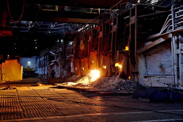 В России закрывается последняя мартеновская печь