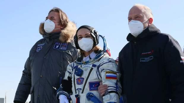Актриса Пересильд рассказала о работе на МКС «на грани возможностей»