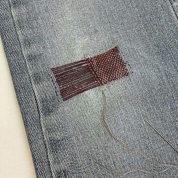 Шторка джинсов (подборка)