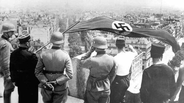 Французы быстро сдались Гитлеру. /Фото: thetrumpet.com