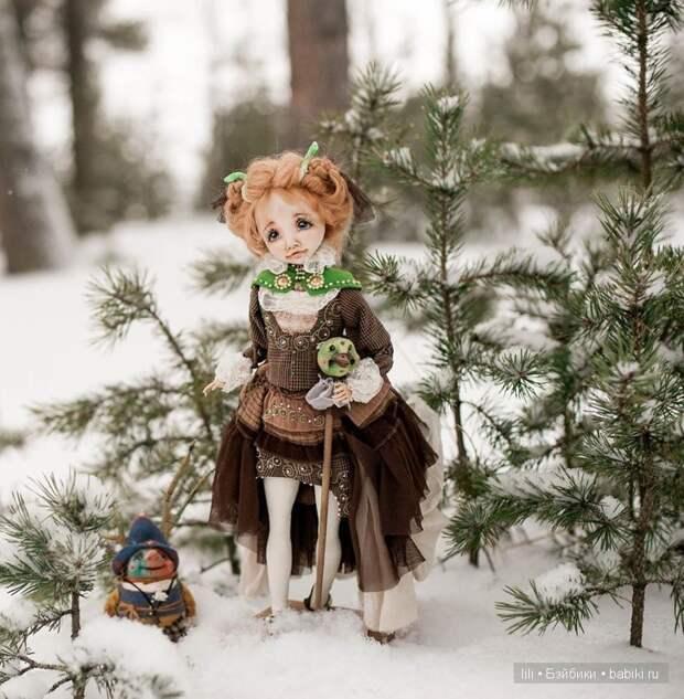 Кукольных дел мастер Ирина Черепанова живет в Северодвинске, но её волшебных кукол знают далеко за пределами этого северного города.