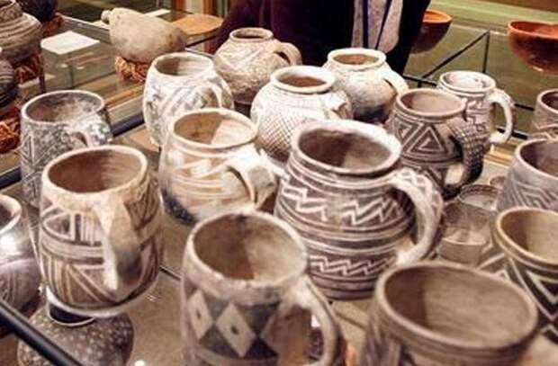 Индейские артефакты из Бландинга.