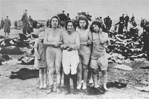 Казнь граждан СССР гитлеровскими палачами