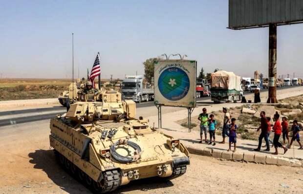 Американцы намерены подрезать россиян в Сирии на БМП М2 «Брэдли»
