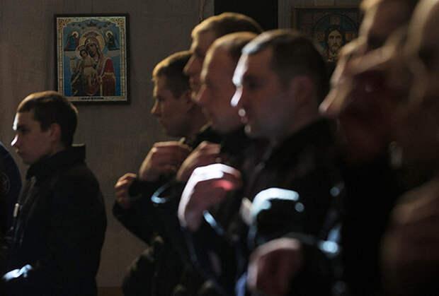 75 процентов посещающих литургию заключенных участвуют в таинствах
