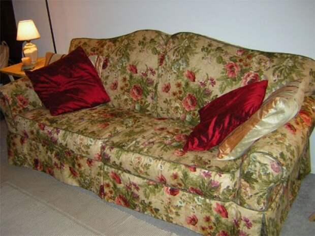 Чехол для дивана своими руками 7