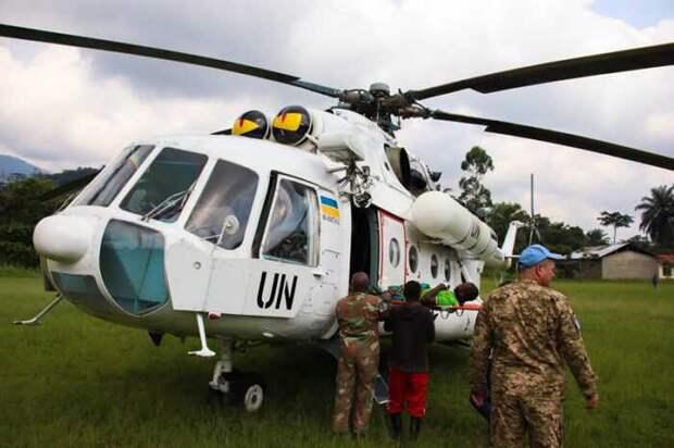 В Конго погиб украинский военнослужащий, старший лейтенант