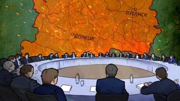 Украинский Кабмин одобрил законопроект предполагающий отказ Киева от Минских соглашений