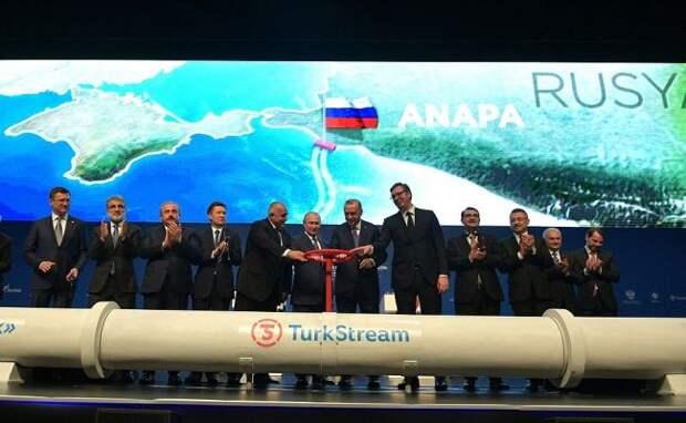 «Турецкий поток» вдохновляет Киев делать все против «Северного потока— 2»