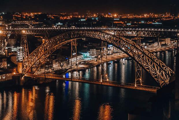 Porto by night by Paulo Alves on 500px.com