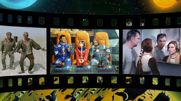 «Солярис» и «Кин-Дза-Дза!»: российские космонавты снялись для афиш легендарных советских фильмов