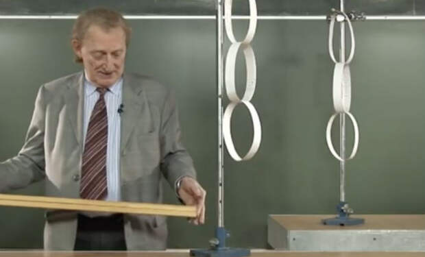 Физический эксперимент на видео