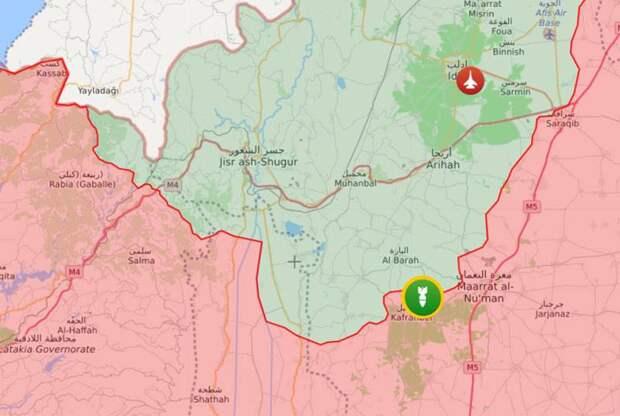 Обострение в Идлибе: боевики нанесли ракетные удары по позициям сирийской армии