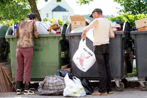 Бедность жителей США