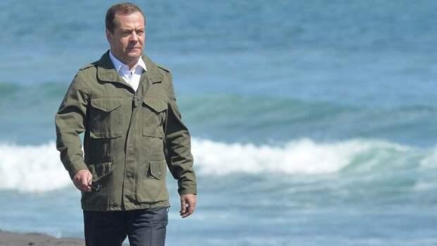 Россиянин продаёт песок по которому ходил Дмитрий Медведев (ФОТО)
