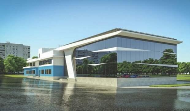 Физкультурный комплекс в Бибирево будет похож на морской катер