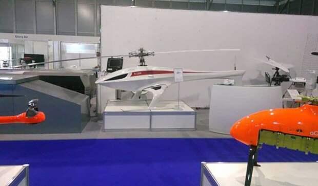 """КБ """"Русь"""" представило многоцелевой беспилотный грузовой вертолет"""