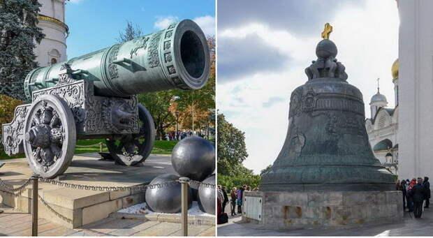 Москва. Царь пушка и Царь колокол