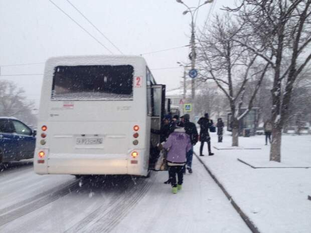 Очередной снежный коллапс в «копилку» Титова?