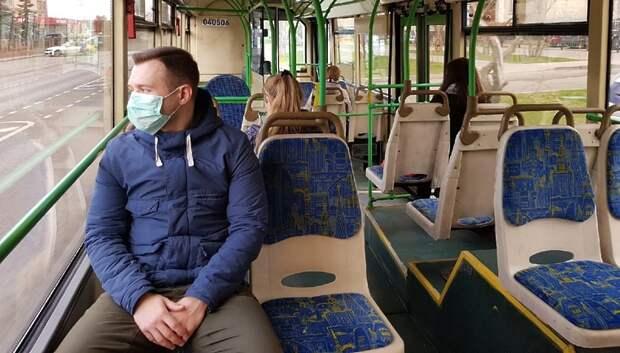 Число пассажиров в автобусах сократилось в четыре раза в Подмосковье