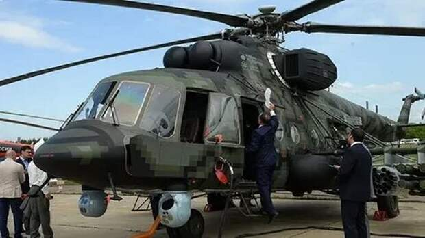 Российские военные получили новый вертолет для спецназа