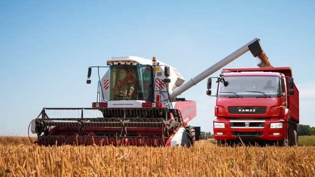 Экспорт российской сельхозтехники за прошлый год достиг рекордных показателей
