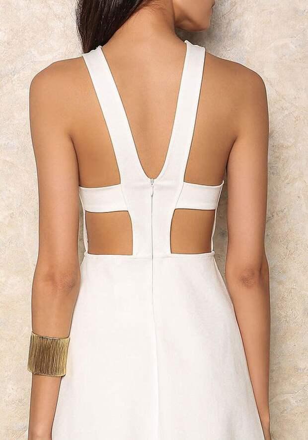 Спинки для торжественного платья (идеи)